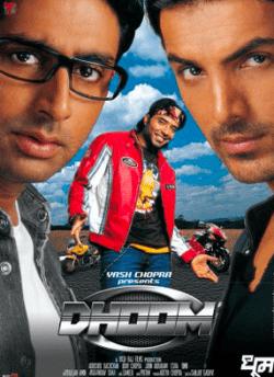 धूम movie poster