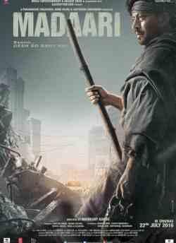 मदारी movie poster