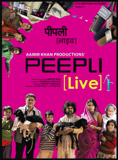 Peepli (Live) movie poster
