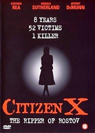 Citizen X movie poster
