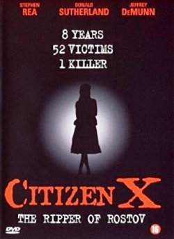 Citizen X movie poster