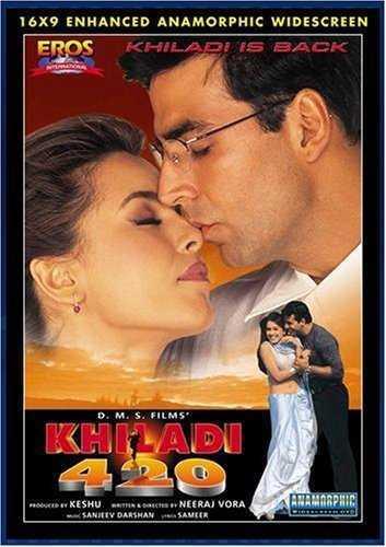 Khiladi 420 movie poster