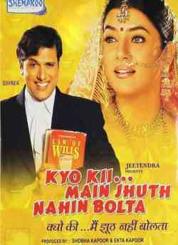 Kyo…Kii Main Jhuth Nahin Bolta movie poster