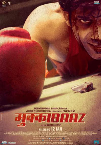 Mukkabaaz movie poster