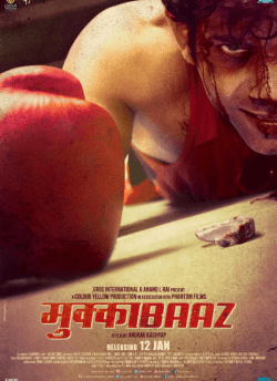Mukkabaaz movie poster