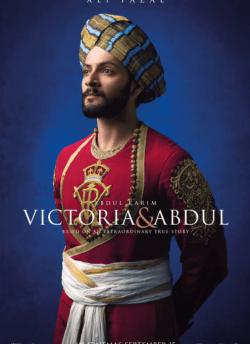 विक्टोरिया एंड अब्दुल movie poster