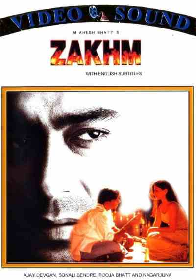 Zakhm movie poster