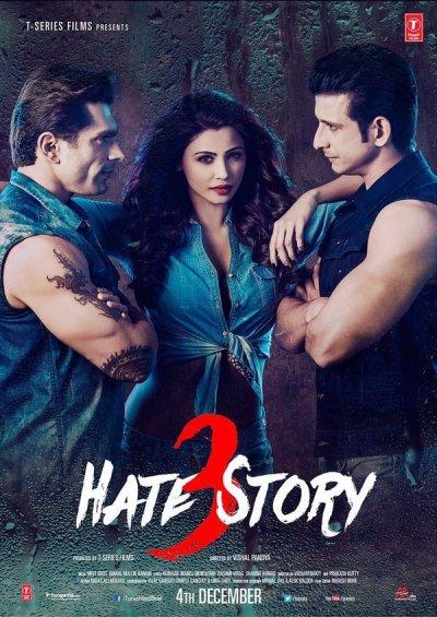 हेट स्टोरी 3 movie poster