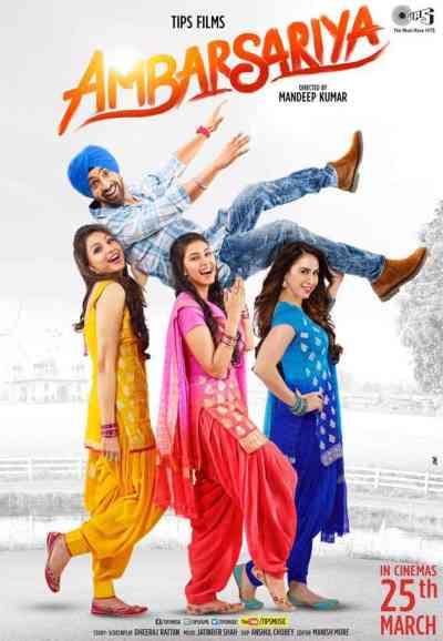 Ambarsariya movie poster
