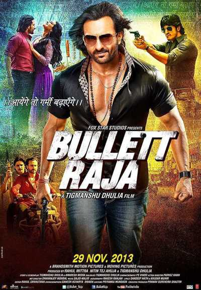 Bullet Raja movie poster