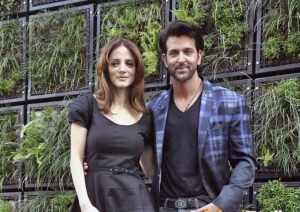 Hrithik and Suzanne pic together