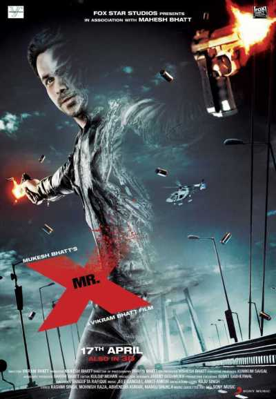 मिस्टर एक्स movie poster