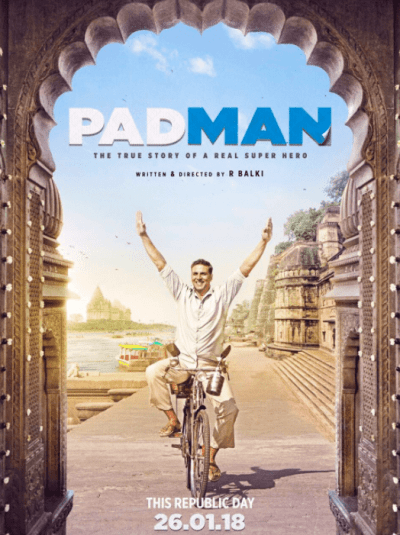 Padman movie poster