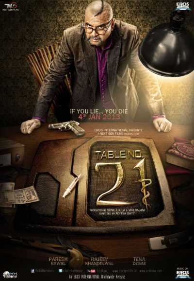 Table No. 21 movie poster