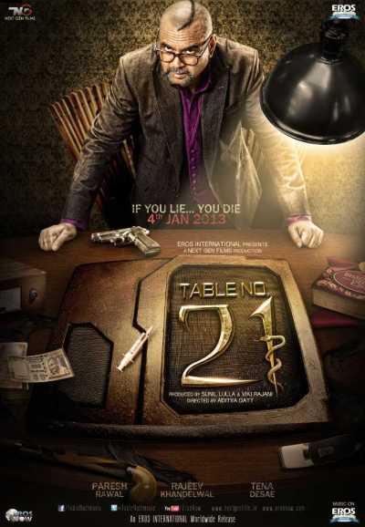 टेबल नंबर 21 movie poster