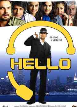 Hello movie poster
