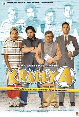 Krazzy 4 movie poster
