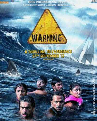 Warning movie poster