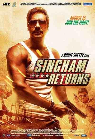सिंघम रिटर्न movie poster