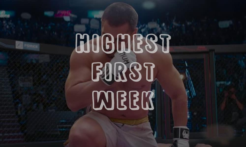 highest first week collection