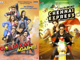 Chennai Express vs Golmaal Again Battle