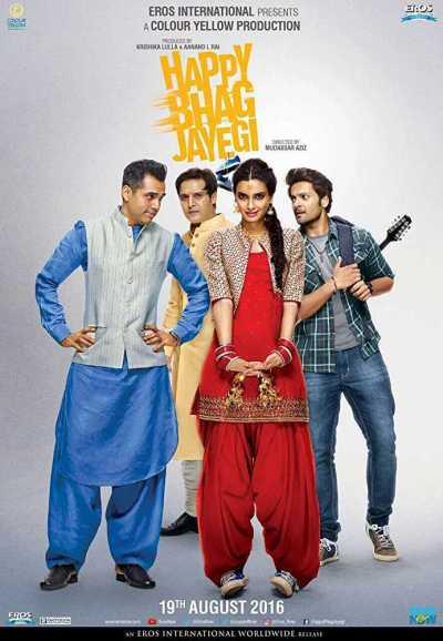 Happy Bhaag Jayegi movie poster