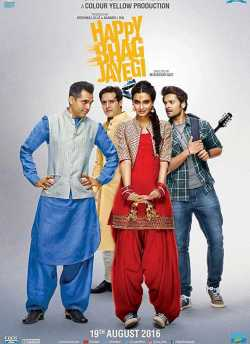 Happy Bhaag Jayegi movie poster