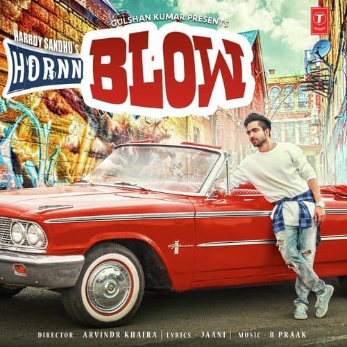 Hornn Blow album artwork