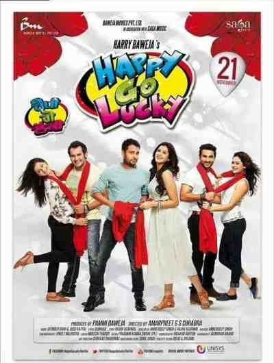 Happy Go Lucky movie poster