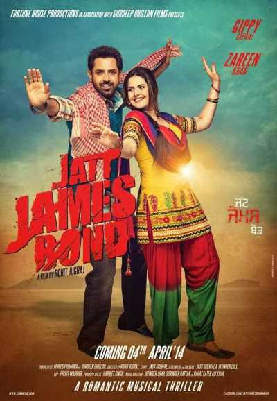 Jatt James Bond movie poster