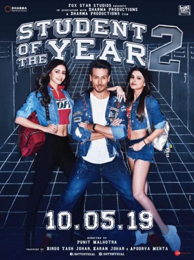 स्टूडेंट ऑफ़ द ईयर 2 movie poster