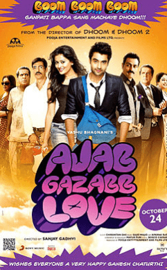 Ajab Gazabb Love movie poster