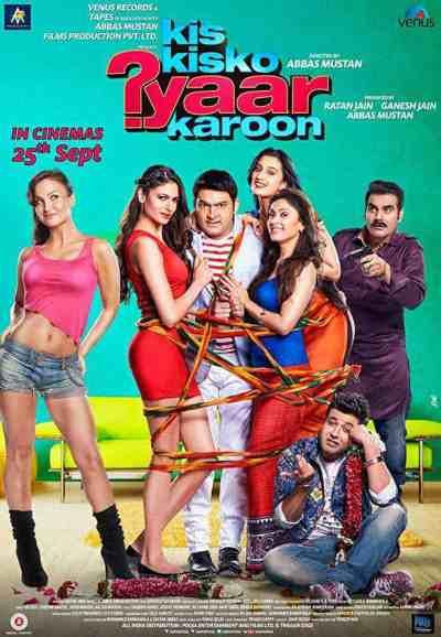 Kis Kisko Pyaar Karoon movie poster