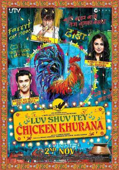 Luv Shuv Tey Chicken Khurana movie poster