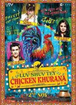 Luv Shuv Tey Chicken Khurana movie poster