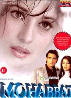 Mohabbat movie poster
