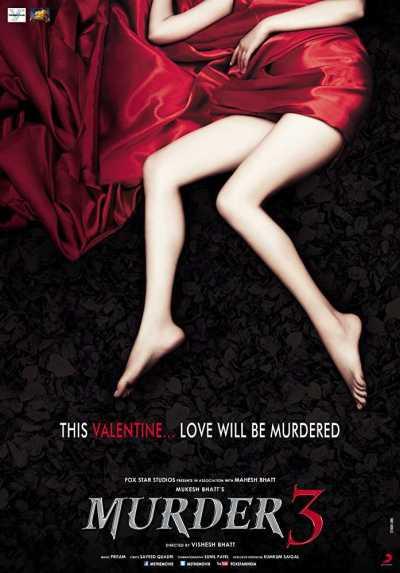 Murder 3 movie poster