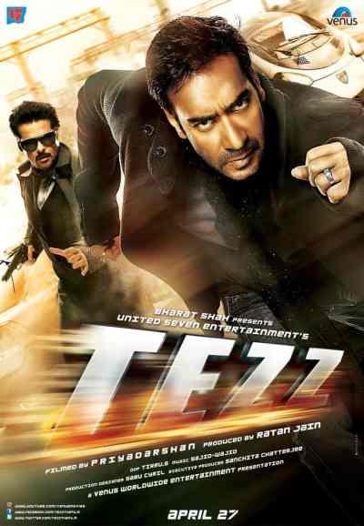 तेज़ movie poster