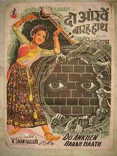 Do Aankhen Barah Hath movie poster
