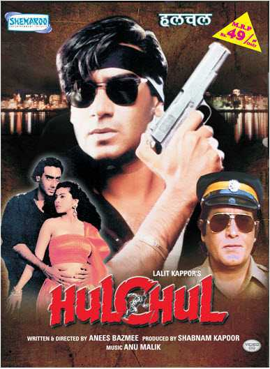 Hulchul movie poster