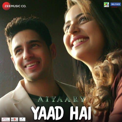 Yaad Hai album artwork