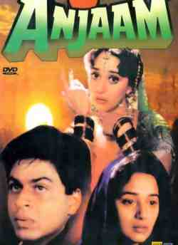Anjaam movie poster