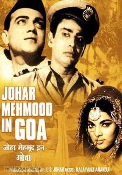Johar Mehmood In Goa movie poster