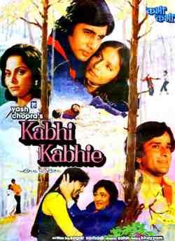 Kabhie Kabhie movie poster
