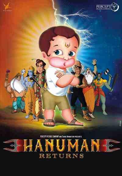 Return of Hanuman movie poster