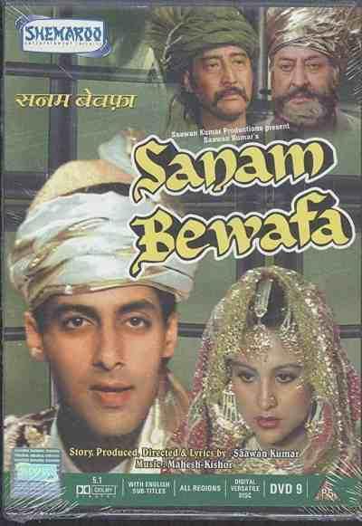 Sanam Bewafa movie poster