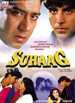 Suhaag (1995) movie poster