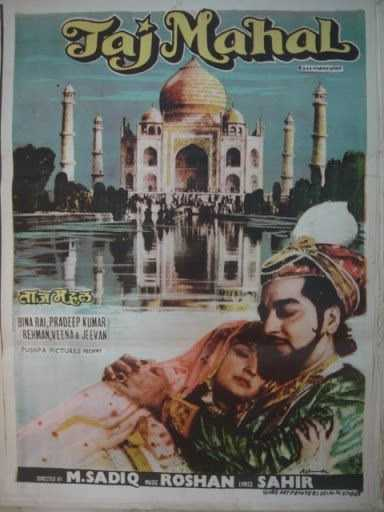 Taj Mahal movie poster