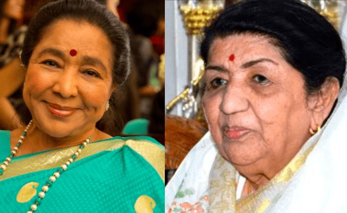 Asha Bhosle - Lata Mangeshkar Bollywood Sisters