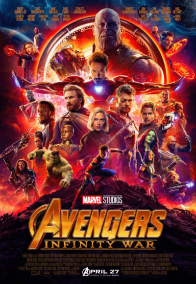 एवेंजर्स- इन्फिनिटी वॉर movie poster